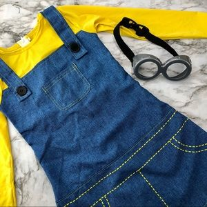 Other - Girls Despicable Me Minion Costume Medium 8/10